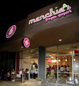 Menchie's Frozen Yogurt Exterior by menchiesyogurt