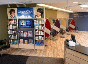 Great Clips Salon Interior