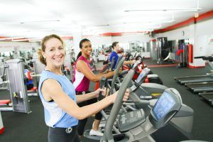 Snap Fitness Interiror