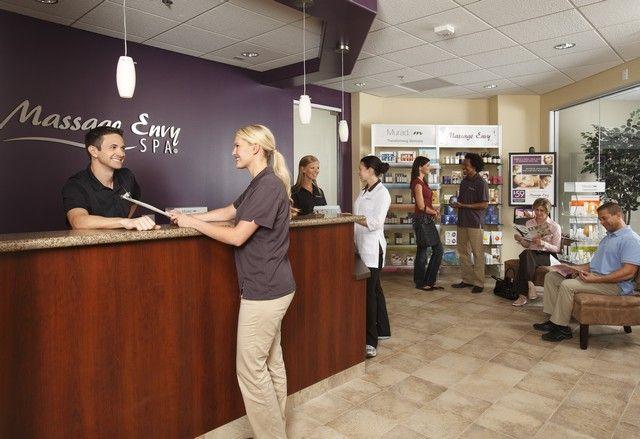 Massage Envy Franchise Interior Photo
