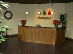 Elements Therapeutic Massage Interior