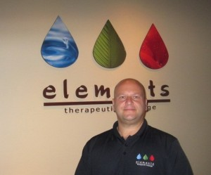 Stephen Stabile, franchisee of Elements Therapeutic Massage