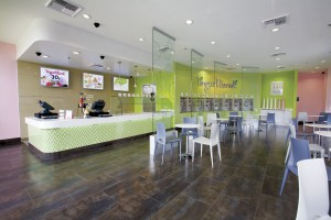 Yogurtland Store Interior