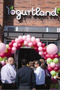 Yogurtland USC Grand Opening