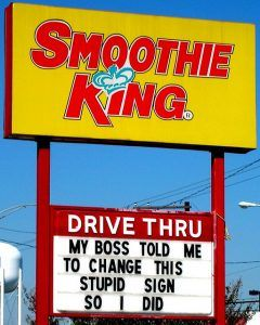 Smoothie King Franchise Photo by victoryoverchaos