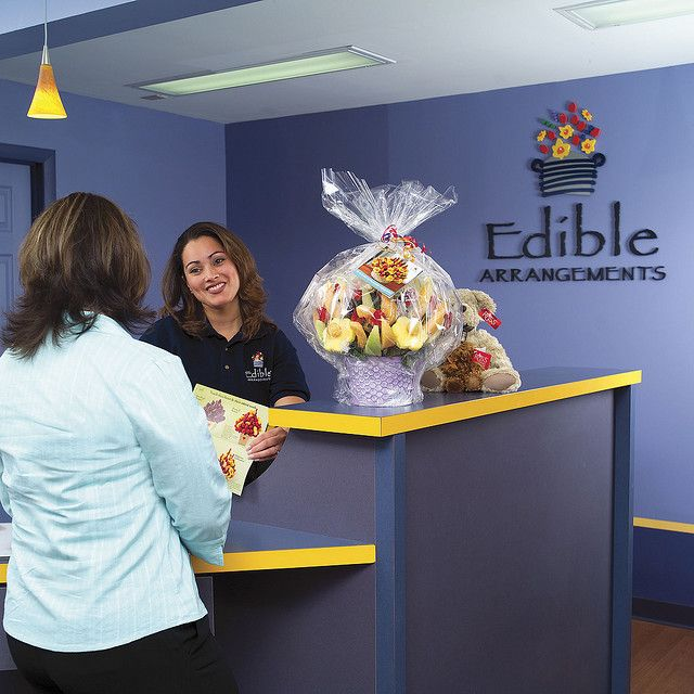 Edible Arrangements Franchise Interior Photo