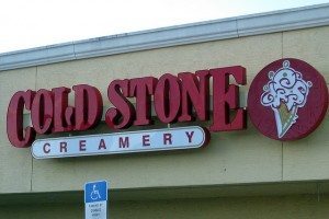 Cold Stone Creamery Franchise Photo by Richard Elzey