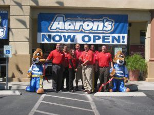 Aaron's Sales and Leasing Franchise Photo by Las Vegas Chamber