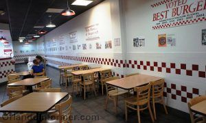 Five Guys Burgers Franchise Interior Photo