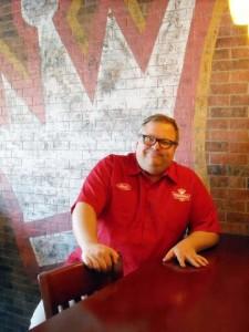 Brett Larrabee, Director of Franchise Development for Toppers Pizza