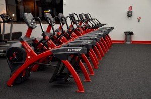 Interior of Snap Fitness in Lansing, MI