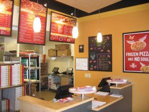 Toppers Pizza Franchise Interior Photo