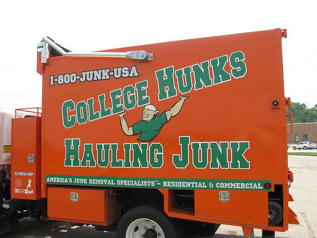 College Hunks Hauling Junk Franchise Photo by Dan Stiver
