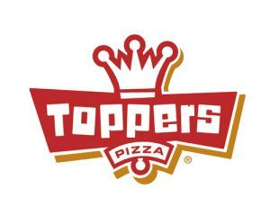 Toppers Pizza Logo by Shine Advertising Co.
