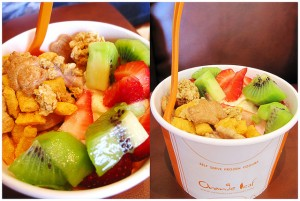 Orange Leaf Frozen Yogurt Photo by CinnamonDolce