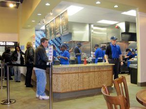 Elevation Burger Interior Photo by ZanyShani
