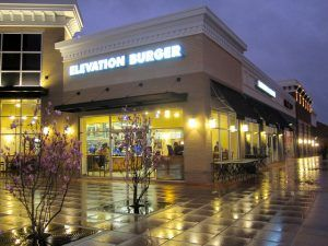 Elevation Burger Exterior Photo by ZanyShani