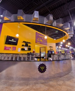 Planet Fitness Interior Photo by Urban Partners Group
