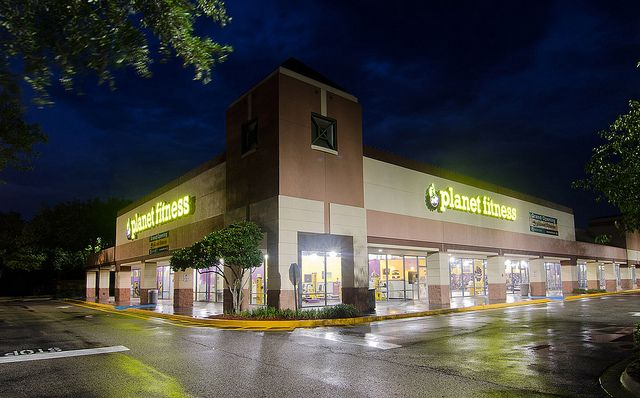 Planet Fitness Exterior Photo by Urban Partners Group