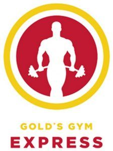 Gold's Gym Express Clubs Logo