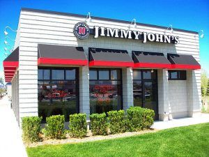 Jimmy John's Restaurant Exterior Photo by KenobiwanX