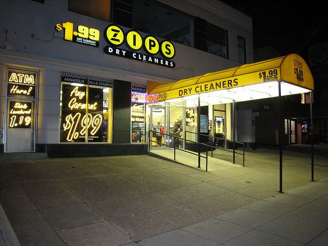 Zips Dry Cleaners Photo by Maryland Route 5