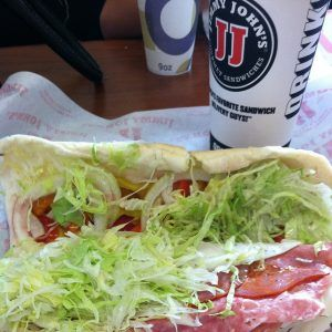 Jimmy John's sandwich photo by sailoraide