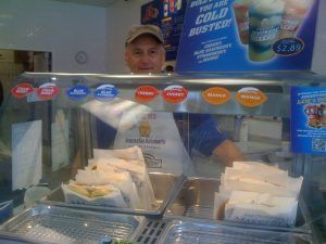 Bob Phillips, Auntie Anne's Franchisee of the Year in 2009