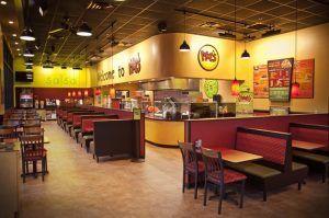 Moe's Southwest Grill Interiors