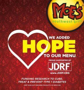 Juvenile Diabetes Research Foundation Hope poster