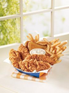 Orange Julius' Chicken Strip Basket Photo