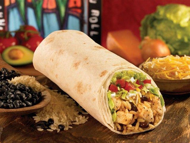 Moe's Southwest Grill's Homewrecker Burrito