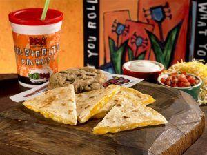 Moe's Southwest Grill's Kids Quesadilla