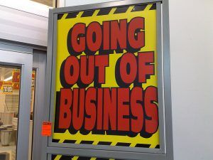 Going out of business photo by reinvented