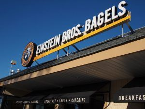Einstein Bros. Bagels Photo by Earl - What I Saw 2.0