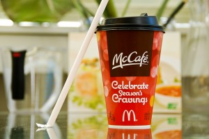 McDonald's Peppermint Mocha Drink