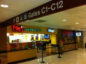 Moe's Southwest Grill at the Memphis International Airport