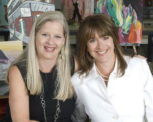 Cathy Deano and Renee Maloney, Co-Founders of Painting with a Twist