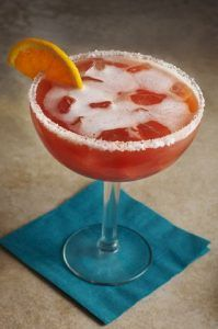 Blood Orange Margarita at Margaritas Mexican Restaurant