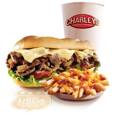 Charley's Philly Steaks Gourmet Combo