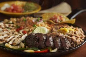 Callaway Combo Fajitas at Margaritas Mexican Restaurant