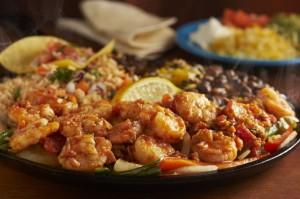 Callaway Shrimp Fajitas at Margaritas Mexican Restaurant