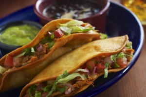 Fried Carnitas Tacos at Margaritas Mexican Restaurant