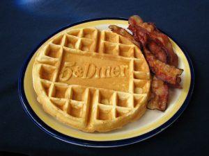 5 & Diner Waffle Photo