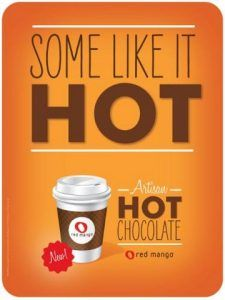Red Mango's Artisan Hot Chocolate