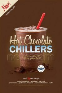 Red Mango's Hot Chocolate Chillers Photo