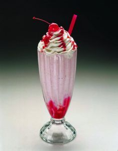 5 & Diner Strawberry Shake Photo