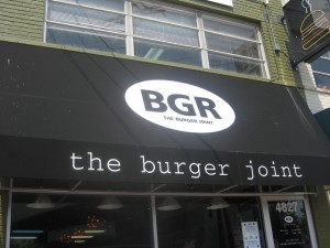 BGR The Burger Joint Photo by CapitolBites