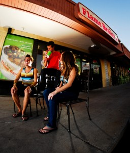 The Flame Broiler Photo by Giancarlo Blanks