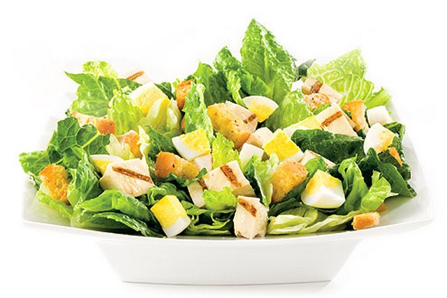Chicken Caesar Salad from Saladworks